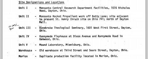 site designation