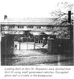 Dock de chargement à l'Unit IV
